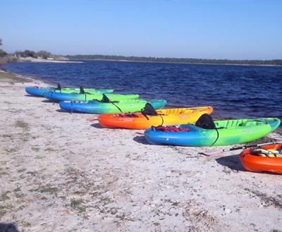 Gulf Shores kayak rentals