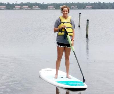 Gulf Shores paddleboard rentals